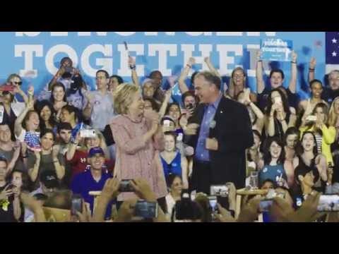 Hillary Clinton announced Senator Tim Kaine as her running mate | Hillary Clinton