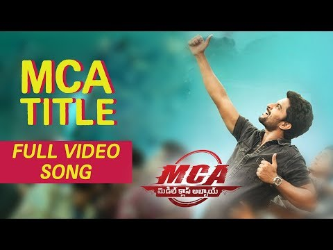 MCA Full Video Songs - MCA Title Video Song | Nani, Devi Sri Prasad