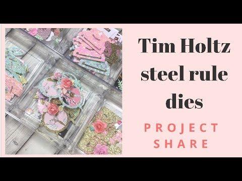 Tim Holtz Idea-ology Embellishments! Project Shares