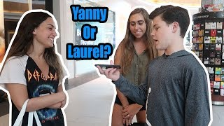 ASKING STRANGERS IF THEY HEAR LAUREL OR YANNY!