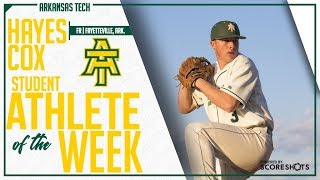Arkansas Tech Student Athlete of the Week - Hayes Cox