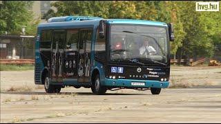 Így készül a magyar elektromos busz