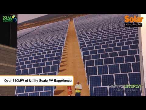 Solar Power International 2013 – Signal Energy