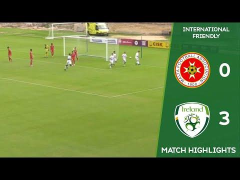 HIGHLIGHTS | Malta MU16 0-3 Ireland MU16