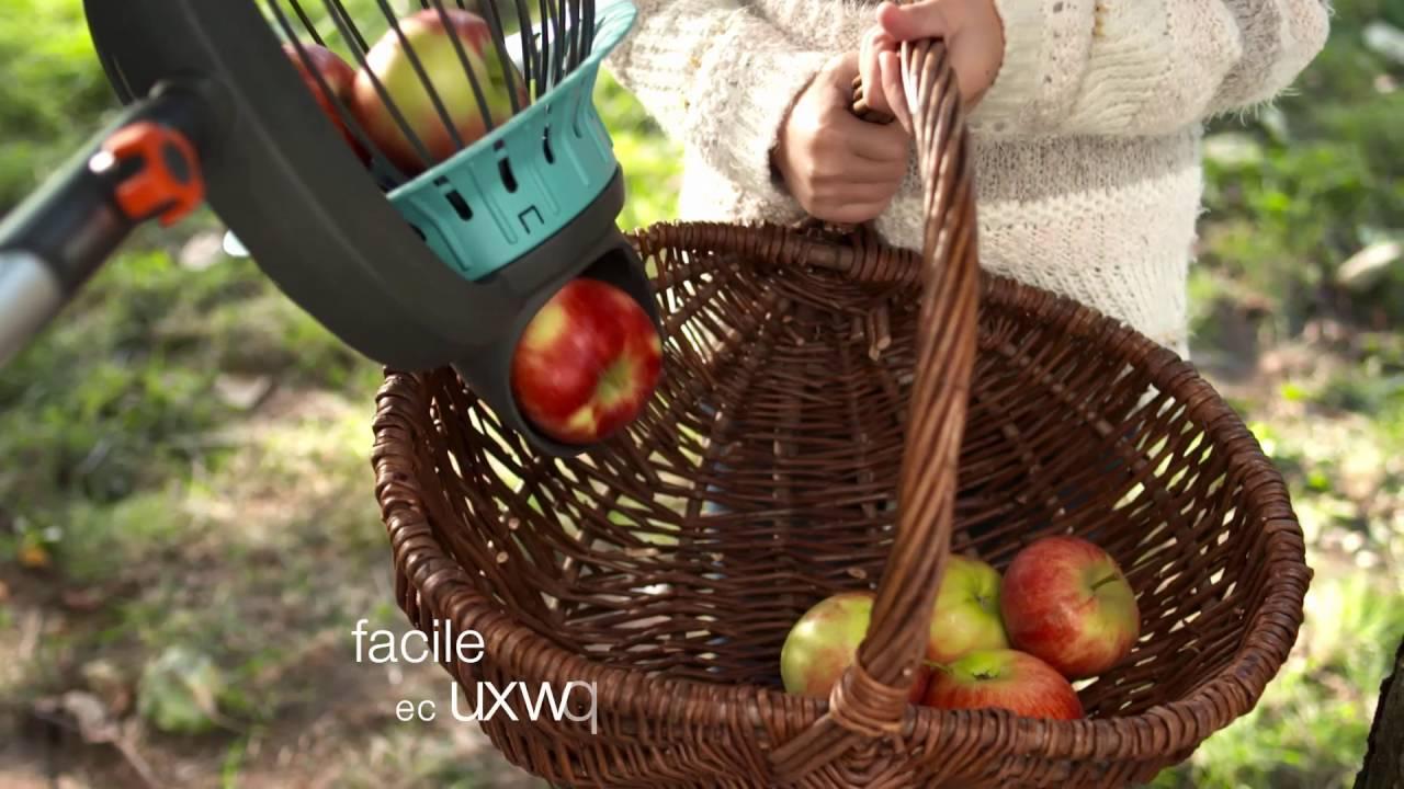 Facile da Montare E Utilizzare,per Raccoglitrice da Giardinaggio Mele Arance Pere Altri Frutti HBRE Raccoglitrice di Frutta Asta Telescopica,Raccogli Frutta da Albero