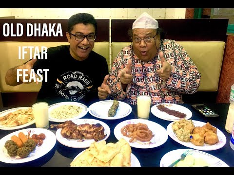 পুরান ঢাকার ইফতার - OLD DHAKA IFTAR FEAST 2018 - Royal Restaurant - Dhaka - Bangladesh