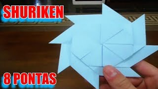 Как сделать сюрикен трансформер из бумаги для игры ниндз