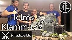 MEGA Battlereport - D2T #17.1 - Helms Klamm 1/2 (Mittelerde Tabletop / Hobbit / Herr der Ringe)