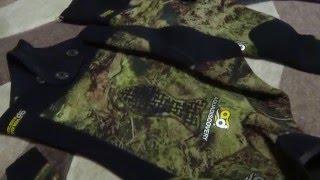 видео Гидрокостюм  Аквадискавери  Атаман green 3 мм