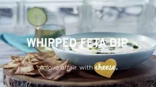 Whipped Tre Stelle® Feta Dip With Mint Pesto