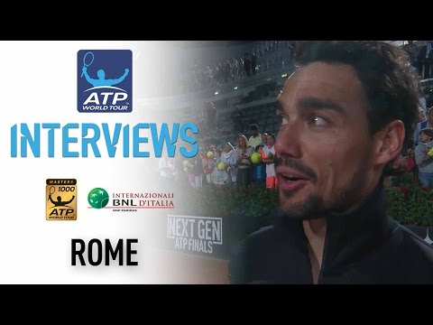 Interview: Fognini Discusses Upsetting Murray In Rome 2017