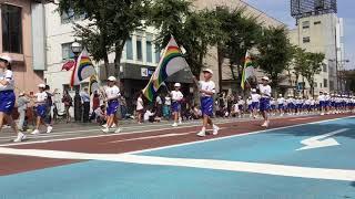 会津まつり2018 鼓笛隊パレード 日新小学校