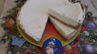 Сырно-  творожный чизкейк, низкокалорийный рецепт