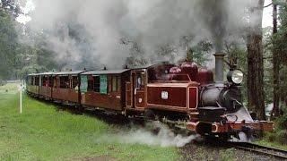 Steam Trains in Winter - Puffing Billy Railway: Trains Downunder