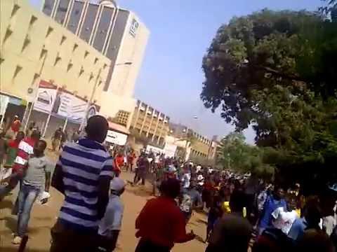 BURKINA FASO _ OUAGADOUGOU _ 30/10/2014 _ CHUTE DE BLAISE