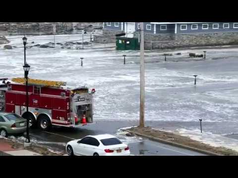Superstorm Riley at York Beach, March 2 4, 2018