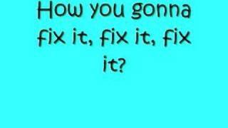 Danity Kane- Damaged with Lyrics on screen