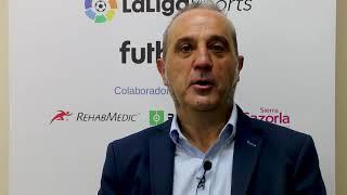 """Luis Moreno: """"Cuando ascendamos a Primera va a ser con gente de la casa"""""""