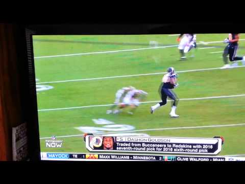 Dirty Dashon Goldson Bucs tries to bust Rams ACL
