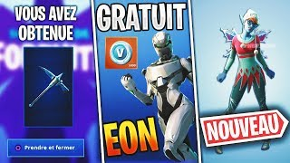 Fortnite News Skin Eon FREE, Future Skin, 5000 V-Bucks Compensation and more!