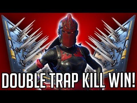 DOUBLE TRAP KILL WIN (Fortnite)
