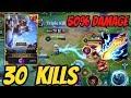 Hayate 30 Kills Pro Guide - 50% Damage Build | Aov | 傳說對決 | Rov | Liên Quân Mobile
