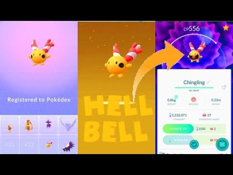 Pokemon Go - Chingling Hatch After 200 7KM Eggs thumbnail