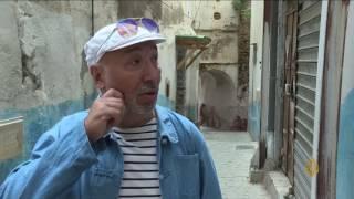 هذا الصباح-حمير تعمل بمشروع جمع النفايات في قصبة الجزائر