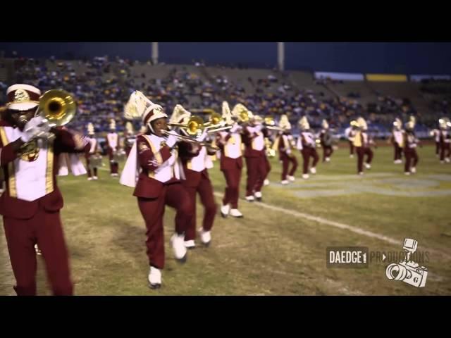 Booker T. Washington High School Halftime Show @ SU 2015