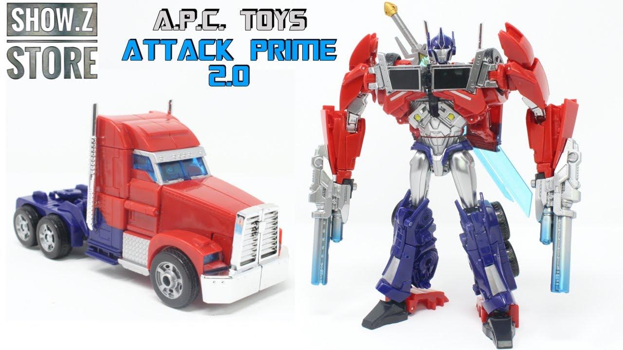 APC Toys APC 001 Attack Prime 2.0 In-Hand Review by PrimeVsPrime