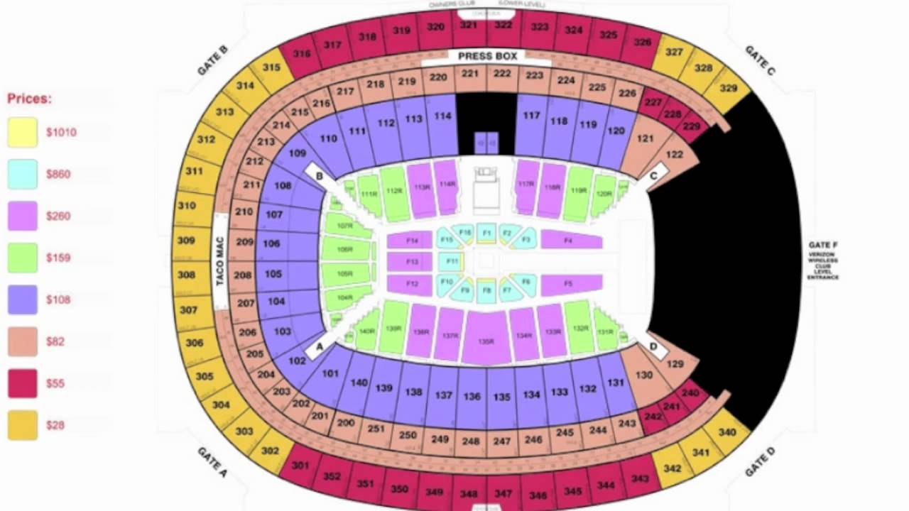 Wrestlemania 34 Seating Chart >> Wrestlemania 27 Presale Password and Seating Chart - YouTube