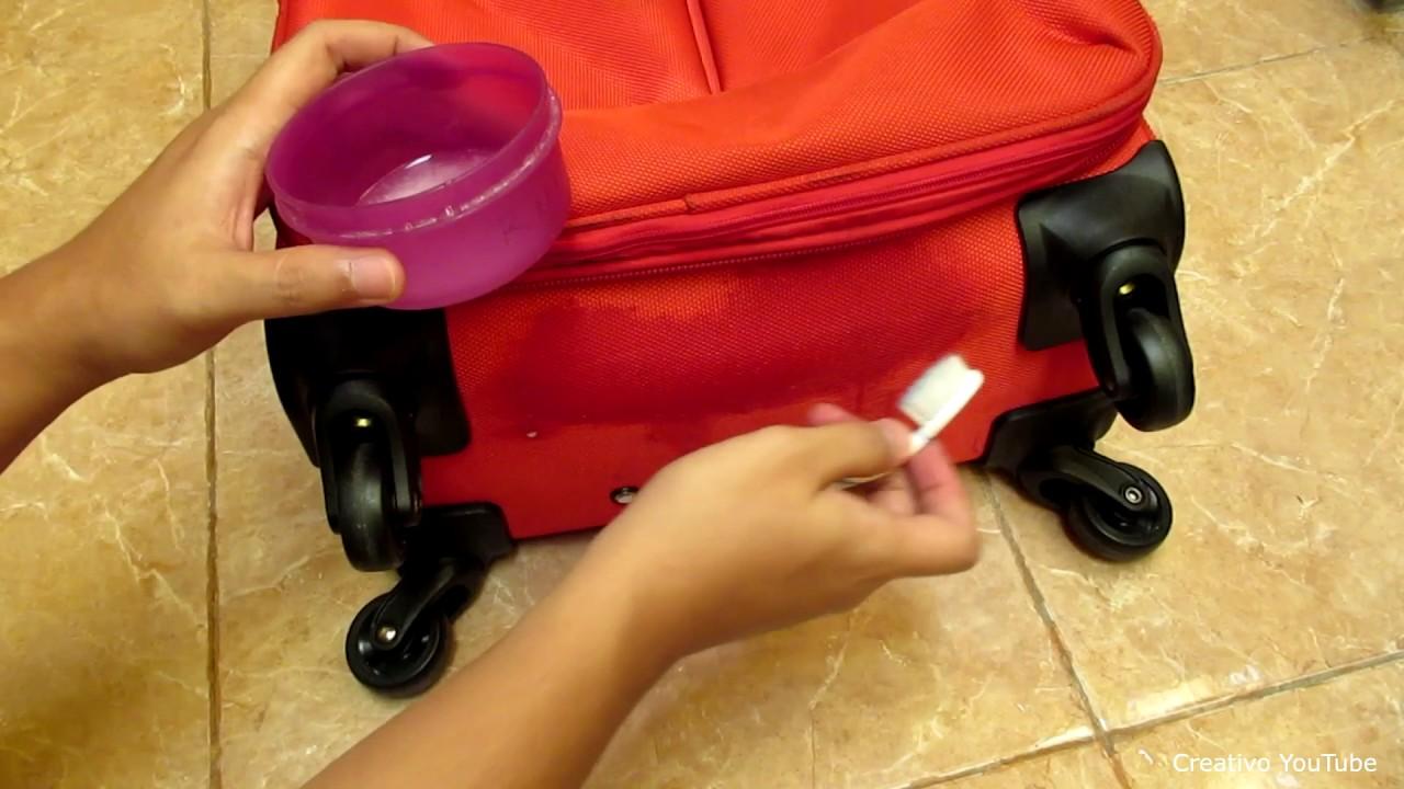 Tips dan cara membersihkan koper yang kotor - YouTube