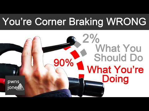 Cornering For Beginners - Trail Braking