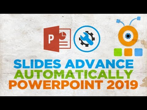 How to make slides transition automatically in powerpoint 2020