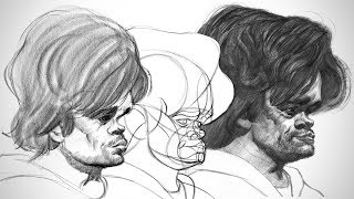 Start to Finish - Peter Dinklage Caricature