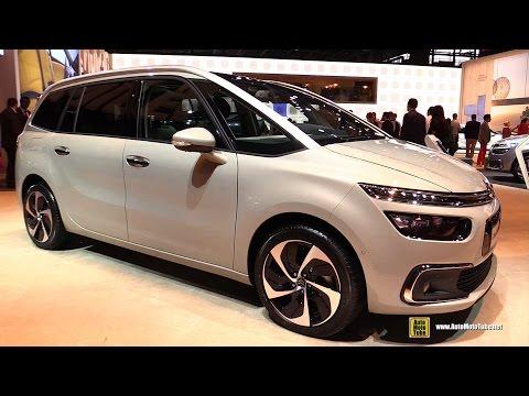 2017 Citroen Grand C4 Picasso Exterior and Interior Walkaround Debut at 2016 Paris Motor Show