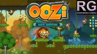 Oozi Earth Adventure - PC Indie - Intro & first world & boss gameplay [HD 1080p 60fps]
