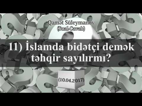 Sual-Cavab (10.04.2017) - Qamət Süleymanov