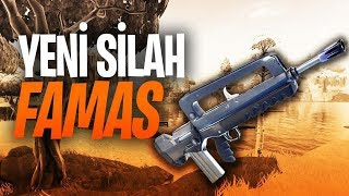 YENİ FAMAS SİLAHI GELDİ ! - FORTNITE BATTLE ROYALE - EZİK OYNADIM