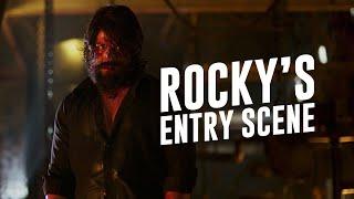 Rocky's Entry Scene | KGF | Yash | Prashanth Neel