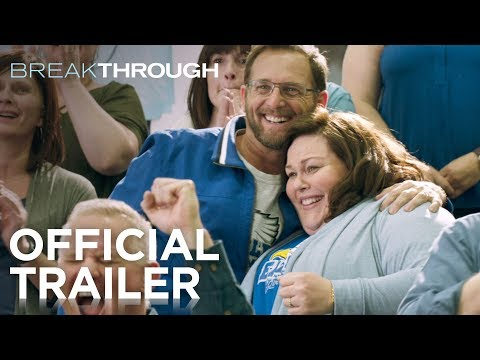 Maurice DeVoe - The movie trailer for BREAKTHROUGH is out.