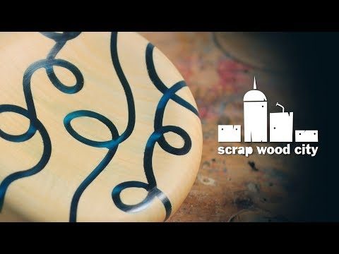 Epoxy resin, CNC machine and woodturning experiments