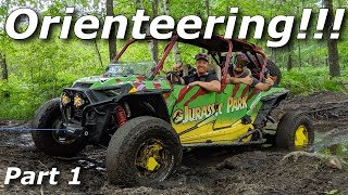 Orienteering with the Jurassic Park RZR! NO GPS! ONLY MAPS!