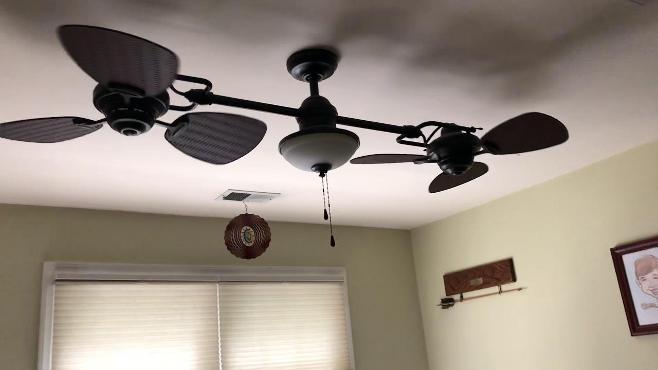 Ceiling Fan In My Brothers Room Harbor Breeze Twin Ii