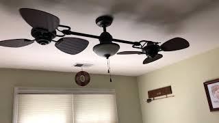 Ceiling fan in my brothers room (Harbor breeze Twin Breeze II)