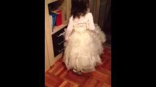 Como una princesa vestida de fiesta biper