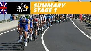 Summary - Stage 1 - Tour de France 2018