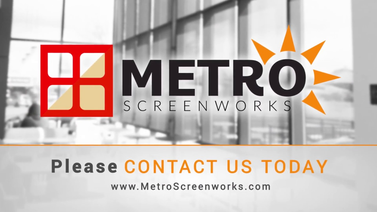 METRO SCREEN WORKS FREE SHIPPING