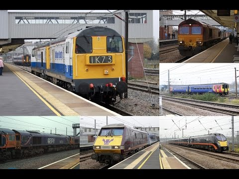 A day on the ECML at Peterborough with Balfour Beatty 20's: 15/11/14