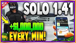 Fastest + Easiest NEW Solo Duplication Glitch 1.41!😱 $1 MILLION EVERY MIN GTA 5 Online Money Glitch